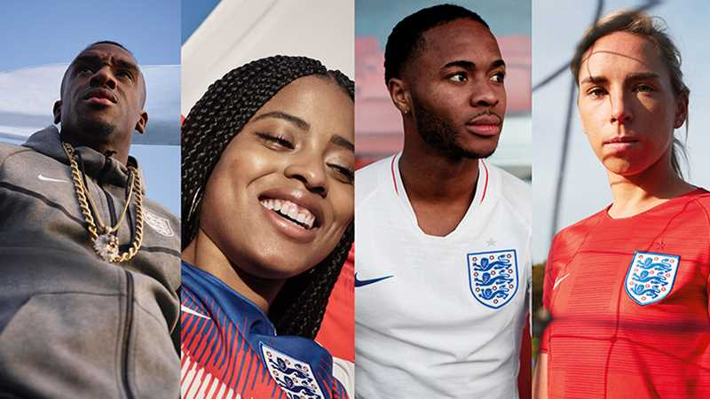 England's 2018 kit revealed