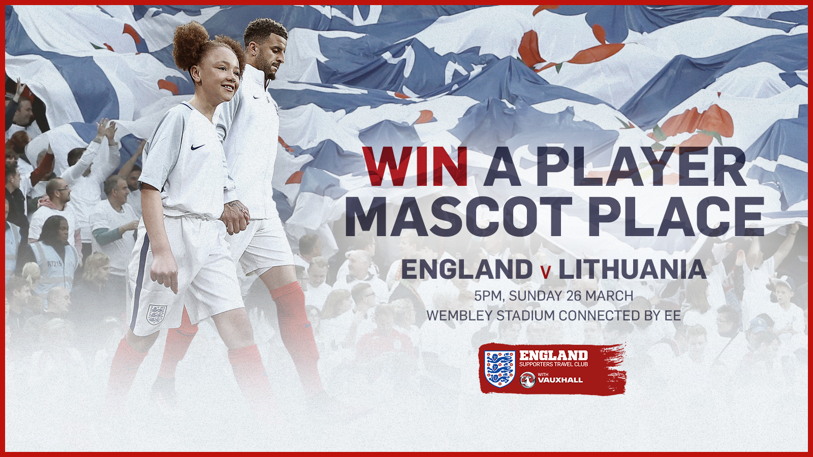 Travel Club exclusive: Win a Player Mascot place for Lithuania