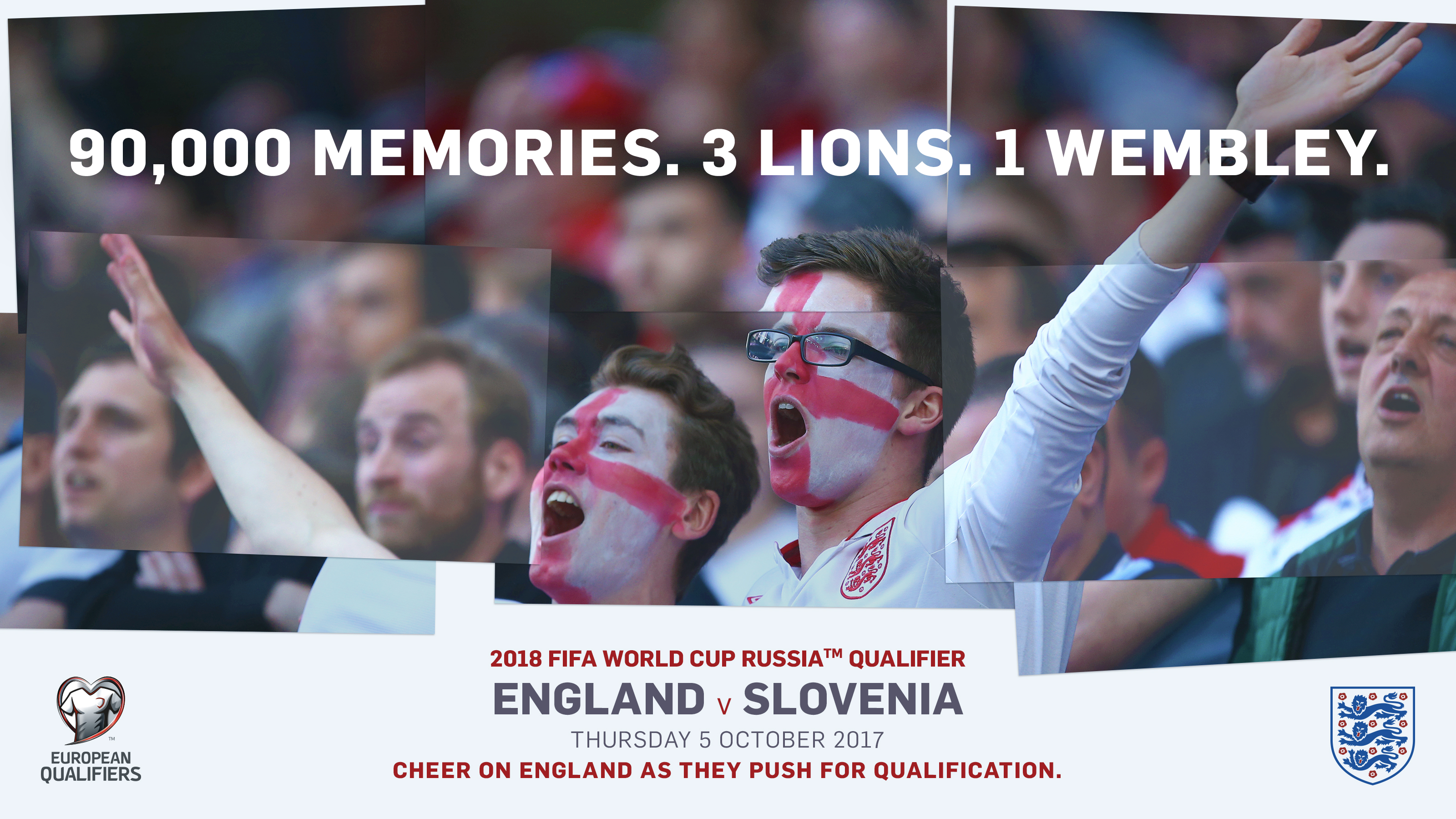 England v Slovenia Tickets now on sale