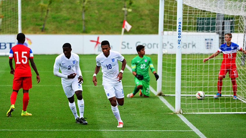 England U16s share the spoils after six-goal thriller