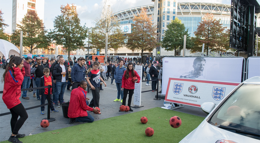 England Fanzone: new location for Germany and Brazil fixtures