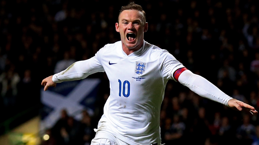 Wayne Rooney scoops England Player of the Year award