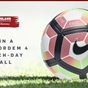 Win a Nike Ordem 4 match-day football