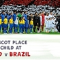 Win a Player Mascot place for Brazil