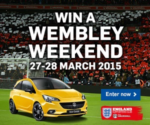 Win a Wembley Weekend